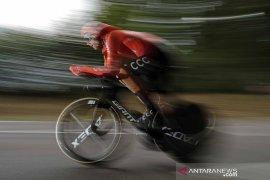 Tour de France: Klasemen sementara setelah etape ke-20