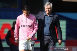 Ancelotti yakin Everton masih bisa lebih baik lagi