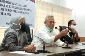 Setelah dampingi Arief Budiman, Ketua KPU Sulsel positif COVID-19