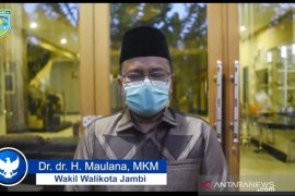 Keluarga Wali Kota Jambi positif COVID-19, Wawako Maulana imbau warga dorong doa untuk kesembuhannya