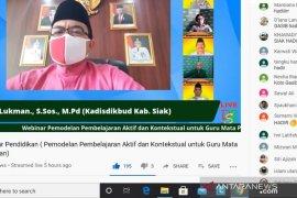 PJJ melalui kanal YouTube Siak Bedelau disebut inspirasi ratusan guru di Indonesia