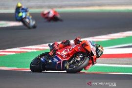MotoGP: Bagnaia pecahkan rekor Misano untuk puncaki sesi latihan ketiga