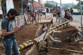 Belasan sapi alami kecelakaan saat truk pengangkutnya terguling, beberapa diantaranya mati