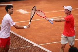 Novak Djokovic atasi Dominik Koepfer untuk dijajal Ruud dalam semifinal Roma
