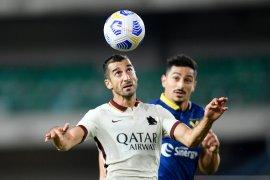 Pertandingan Verona kontra Roma berlangsung tanpa gol