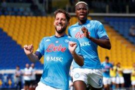 Aksi rekrutan baru Osimhen bantu  Napoli lucuti Parma 2-0