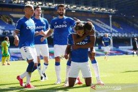 Everton sementara di puncak klasemen Liga Inggris