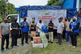 Korban badai di Aceh Besar terima bantuan masa panik dari Pemprov