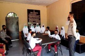 Polsek Tanjung Pura Langkat fasilitasi Wifi gratis untuk belajar daring