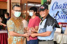"Pangdam I/BB: ""Charity Golf"" bantu  warga terdampak erupsi Sinabung"