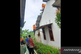 Lima rumah warga di Bangka rusak akibat puting beliung