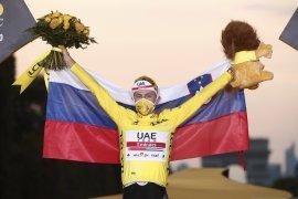 Tadej Pogacar juara Tour de France 2020, pecahkan rekor  juara termuda