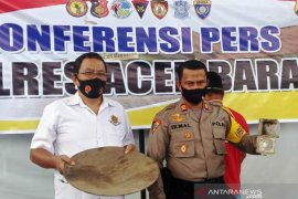 Polres Aceh Barat berkomitmen berantas tambang emas liar