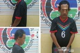 Satresnarkoba Polresta Banjarmasin bekuk Juru parkir edarkan sabu-sabu
