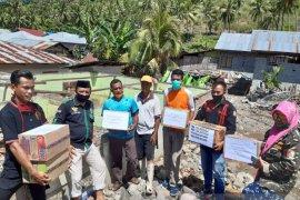 Warga Gorontalo Utara galang bantuan untuk korban banjir di Bone Bolango