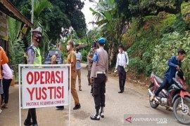 113 orang tak pakai masker terjaring operasi di Tapsel