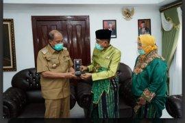 Wali Kota Tebing Tinggi terima kunjungan Sultan dari Negeri Maros Ujung Pandang