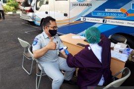 Pegawai Jasa Raharja Bali diuji cepat COVID-19