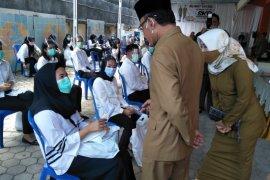 80 peserta tes CPNS Kota Mataram reaktif COVID-19