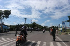 Pemkab Balangan gelar razia penegakan protokol kesehatan bersama TNI/Polri