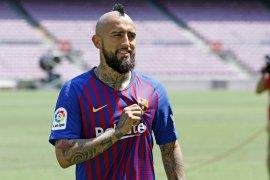 Arturo Vidal ucapkan perpisahan kepada penggemar Barcelona
