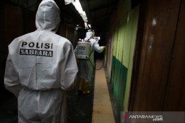 Pedagang meninggal akibat COVID-19, Pasar Melati Medan disemprot disinfektan