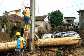 PLN nyalakan seluruh gardu terdampak banjir bandang di Sukabumi