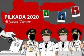KPU Jatim: Bakal calon peserta pilkada terkonfirmasi COVID-19 satu orang