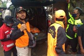 Korban terseret banjir bandang di Sukabumi ditemukan