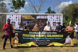 Pemprov Kalsel kirim delapan atlet Panahan Tradisional Horsebow ke Lamongan