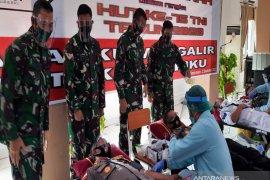 Lanal Banjarmasin kumpulkan ratusan kantong darah bantu kebutuhan saat pandemi