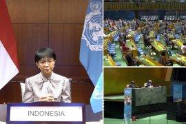 Menlu RI: 75 tahun berdiri, PBB harus memperkuat relevansi dan adaptasi