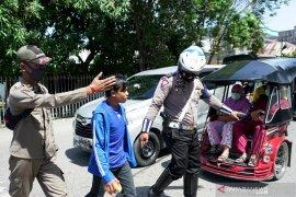 Tim gabungan Gorontalo gelar Operasi Yustisi protokol kesehatan