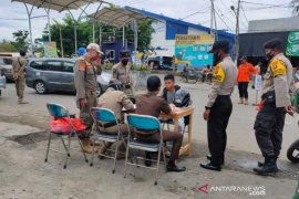 Tak pakai masker, 25 orang pelanggar Perbup HST diberikan sanksi