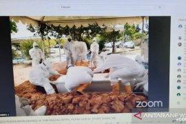 Pemakaman Bian, putra bungsu  Wali Kota Jambi dilakukan dengan protokol COVID-19