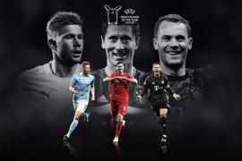 Duo pemain Bayern apit De Bruyne dalam nominasi Pemain Terbaik UEFA