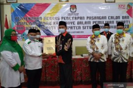 KPU Situbondo tetapkan dua pasangan calon