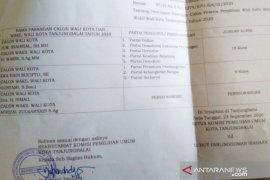 Peserta Pilkada Tanjungbalai 2020 tiga pasangan calon
