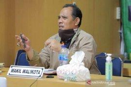 Wakil Wali Kota Solok ikuti konferensi video Rakor penanganan COVID-19