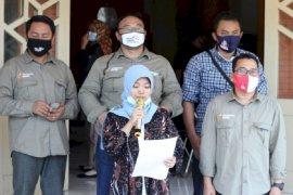 KPU Kabupaten Kediri tetapkan Dhito-Dewi sebagai paslon tunggal pilkada