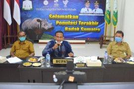 Pemkab Aceh Timur siapkan 7200 hektar untuk bangun Suaka Badak Sumatera