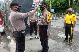 Polres Aceh Tengah perketat protokol kesehatan personel dan tahanan