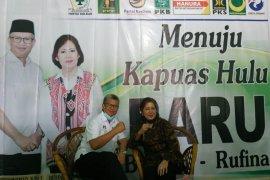 """Pilkada Kapuas Hulu, Baiduri - Rufina siap ikuti """"aturan main"""""""