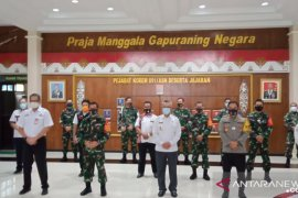 Danrem-Walikota Samarinda koordinasi penanganan COVID-19