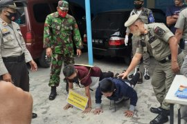 Polres Binjai tindak 24 pelanggar tidak pakai masker
