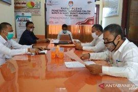 KPU Pohuwato tetapkan empat paslon peserta Pilkada serentak 2020
