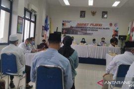 KPU Banjarmasin resmi tetapkan empat Paslon peserta Pilkada 2020
