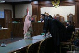 Jaksa Pinangki Malasari sampaikan keberatan dengan surat dakwaan