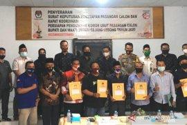 KPU tetapkan empat pasangan peserta Pilkada Rejang Lebong