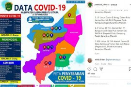 Dalam dua hari, terkonfirmasi COVID-19 bertambah 7 orang di Labura